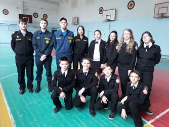 Репетиция перед Клятвой юного-матроса-спасателя ВОСВОД