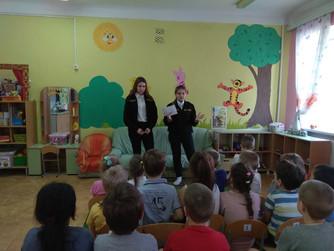 Профилактические беседы в дошкольных образовательных учреждениях г.Волжский