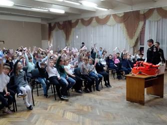 Профилактическая беседа в начальных классах Лицея №1 г.Волжский