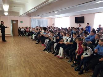 Профилактическое занятие  в ГКОУ «Среднеахтубинская школа-интернат»