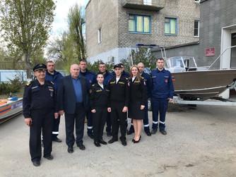 Вручение спецтехники подразделениям Аварийно-спасательной службы Волгоградской области