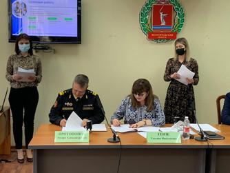 Соглашение с Общественной палатой Волгоградской области