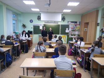 Профилактические беседы в школе №61 г. Волгограда с 4-ми классами