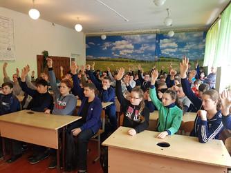 Профилактическая беседа в школе №4 г. Новоаннинский