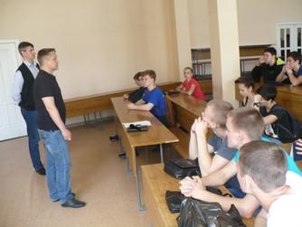 Встреча ВОСВОД со студентами   ВолгГАУ
