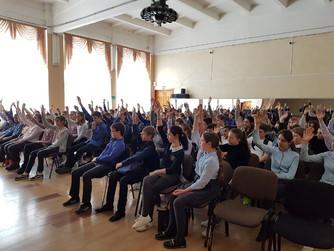 Профилактическая беседа в школе №10 г. Михайловки