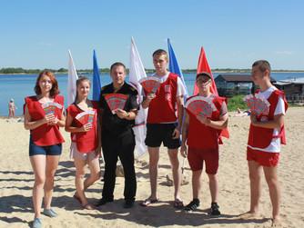 Профилактические мероприятия на пляже пос.Спартановка г.Волгоград