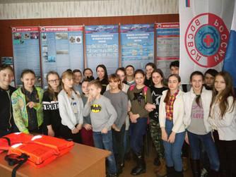 Профилактическая беседа в музее ВОСВОД с МОУ СШ №31 (первая)