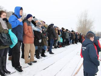 Показательные учения для школьников Красноармейского района Волгограда