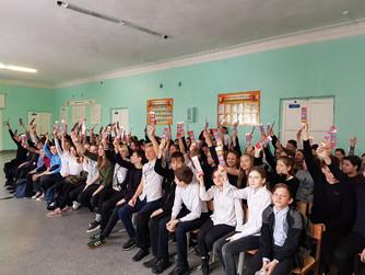 Профилактическая беседа в школа №1 г. Михайловки