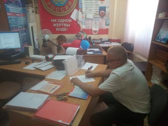 Подготовка матросов-спасателей для обеспечения контроля за безопасностью на пляжах г.Волгограда