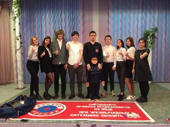 Профилактическое занятие в МОУ Лицей №4 г.Волгограда