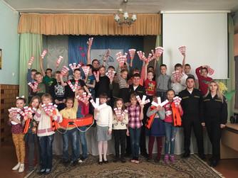 Профилактическая беседа в начальных классах в школе №2 г. Волжский