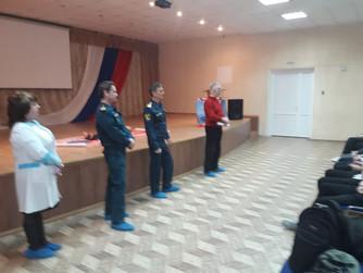 Профилактическое занятие в МОУ Лицей №11 г.Волгограда
