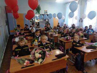 Открытие ВТОРОГО ВОЛЖСКОГО ЭКИПАЖА ЮМС ВОСВОД в МОУ СШ №2 г.Волжский