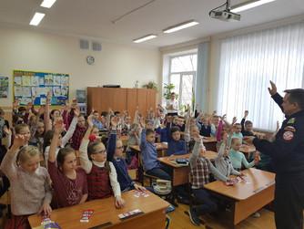 Профилактическая беседа в начальных классах школы №14 г. Волжский