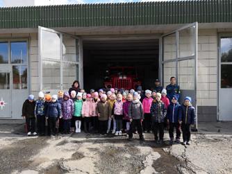 Экскурсия в пожарную часть №13 г.Волжский