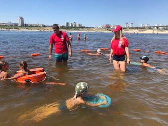 Обучение плаванию жителей Центрального и Дзержинского районов
