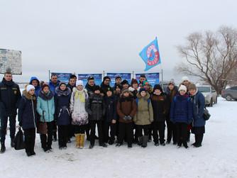 Показательные учения для школьников Кировского района Волгограда