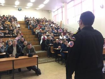 Олимпиада школьников по ОБЖ в ВолГАУ