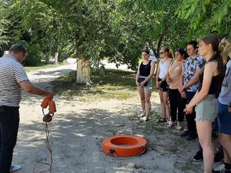 Подготовка волонтеров ВОСВОД