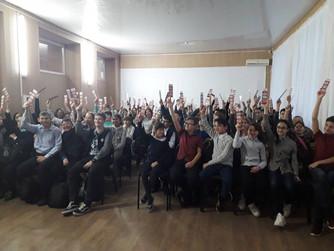 Профилактическая беседа в МОУ СШ №1 г. Суровикино