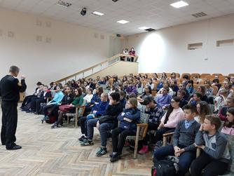 Профилактическая беседа в школе №5 г. Михайловки