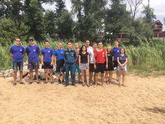 Экологическая акция «Чистый берег» в рамках обучения студентов ВГЭТК в г.Волжский