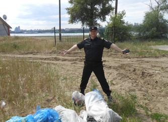 День эколога, пляж города Краснослободск