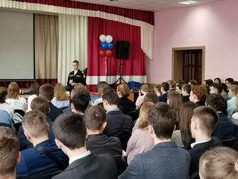 Профилактическая беседа в МОУ Гимназия №10 г.Волгограда
