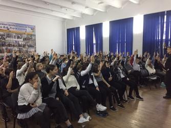 Профилактическая беседа в школе №2 г. Светлый Яр