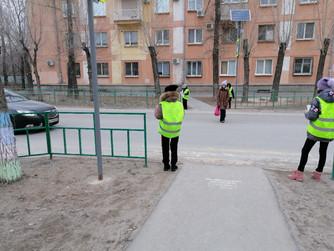 """""""Дорожный патруль"""" волонтеров ВОСВОД"""