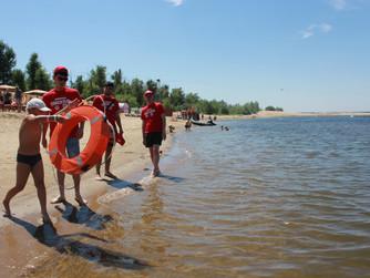 Профилактические мероприятия на пляже в х.Бобры