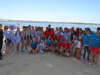 Акция «Безопасная Волга» - пляж Тракторозаводского района