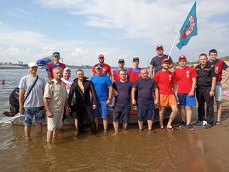 Профилактические учения на пляже о.Крит г.Волгоград