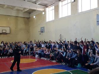 Профилактическая беседа в МОУ СШ №3 г. Дубовки