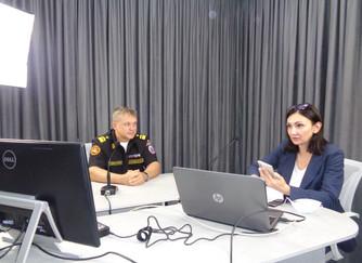 Профилактическая беседа в формате видеоконференции со студентами Волгоградского государственного мед