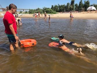 Обучение плаванию жителей Ворошиловского и Советского районов