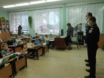 Профилактическая беседа в Николаевском районе Волгоградской области