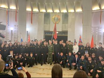 Торжественное мероприятие в честь празднования 50-летия ВОСВОД Российской Федерации