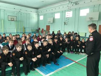Профилактическая беседа в МОУ СШ №16, грант Президента РФ