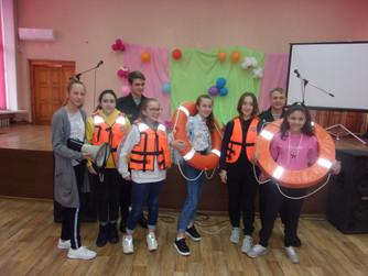 Профилактическая беседа в школе №78 г.Волгограда