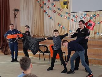 Профилактическая беседа с 5-6 классами в школе №48 г. Волгограда