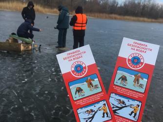 Профилактический рейд на воде в Волгоградской области