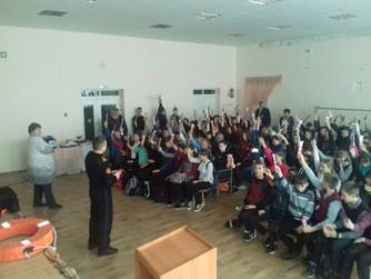 Профилактическая беседа в школе №7 г. Урюпинска