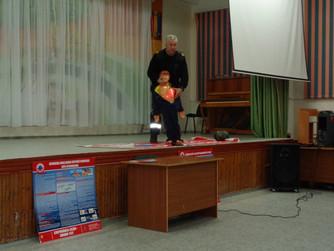 Профилактическое занятие в МОУ СШ №11 г.Волжский