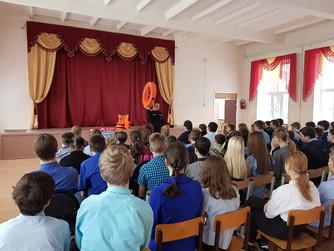 Профилактическая беседа в школе №3 г. Михайловки