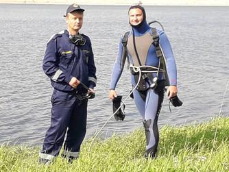 "Чистка дна водоёма на турбазе ""Каравай"" Волгоградской области"