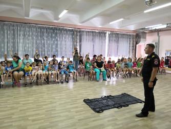 Профилактическое занятие в ГКСУ СО «Волжский социально-реабилитационный центр для несовершеннолетних