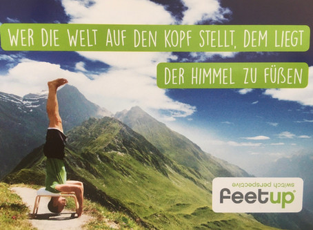 FeetUp -Training -Kennenlernstunde für Beginner